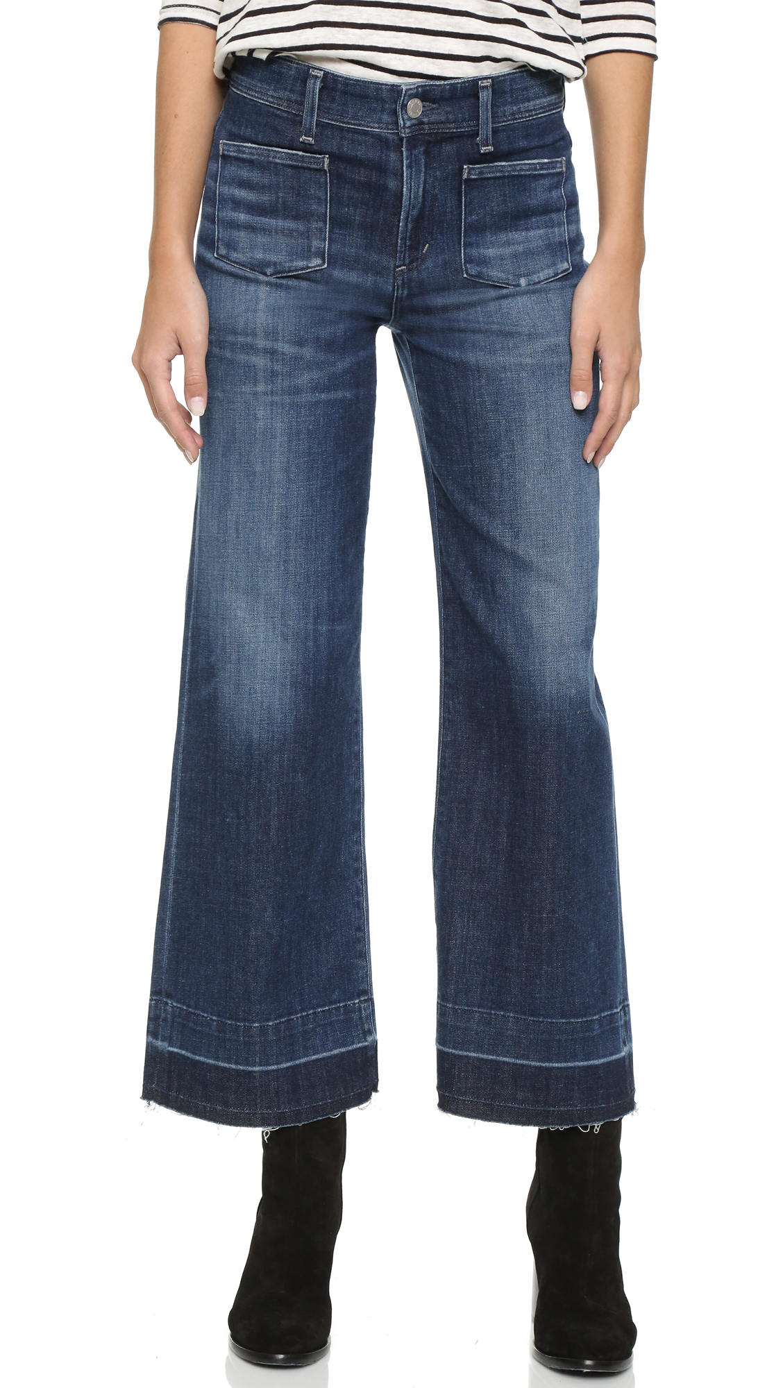 Agolde June High Rise Sailor Jeans - Mansfield at Shopbop