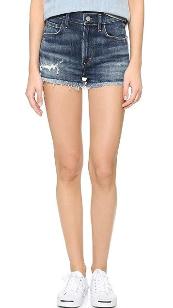 AGOLDE Jaden Hi Rise Cutoff Shorts