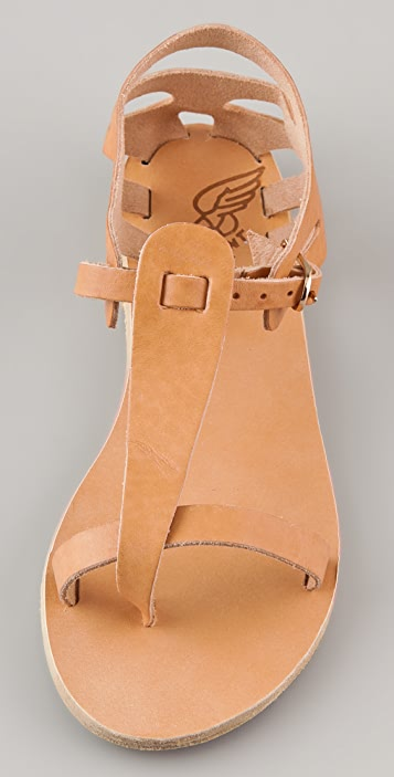 Ancient Greek Sandals Ariadne Flat Thong Sandals