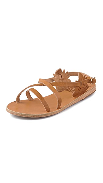 Ancient Greek Sandals Athena Crisscross Flat Sandals