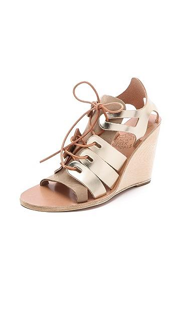 Ancient Greek Sandals Dorotea Wedge Sandals