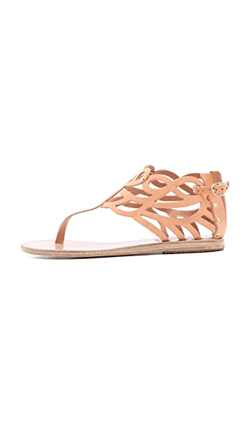 Ancient Greek Sandals Medea Thong Sandals