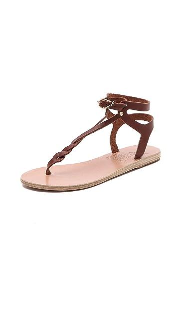 Ancient Greek Sandals Ismene Braided Sandals