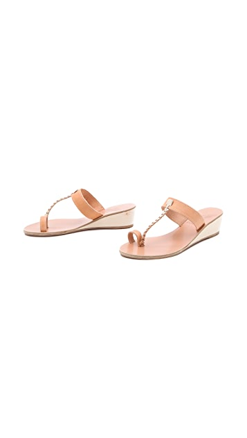 Ancient Greek Sandals Welpomeni Wedge Sandals