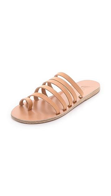 Ancient Greek Sandals Niki Strappy Slide Sandals