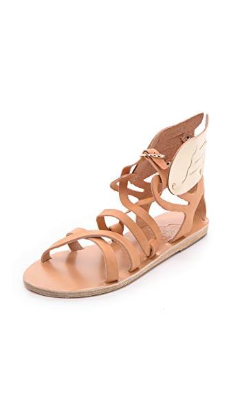 Ancient Greek Sandals Nephele Wing Flat Sandals