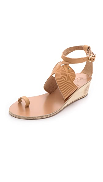Ancient Greek Sandals Klyemnestra Demi Wedge Sandals
