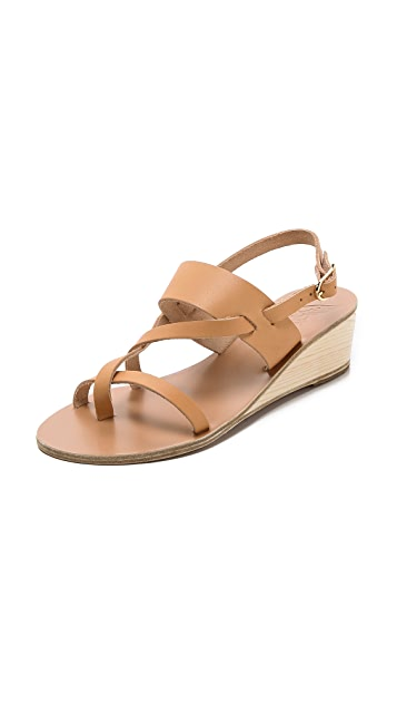 Ancient Greek Sandals Alethea Wedge Sandals