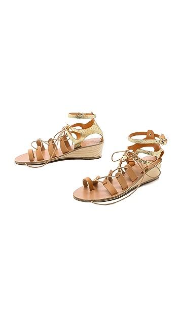 Ancient Greek Sandals Kiveli Wedge Sandals
