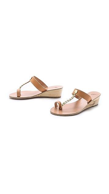 Ancient Greek Sandals Melpomeni Wedge Sandals