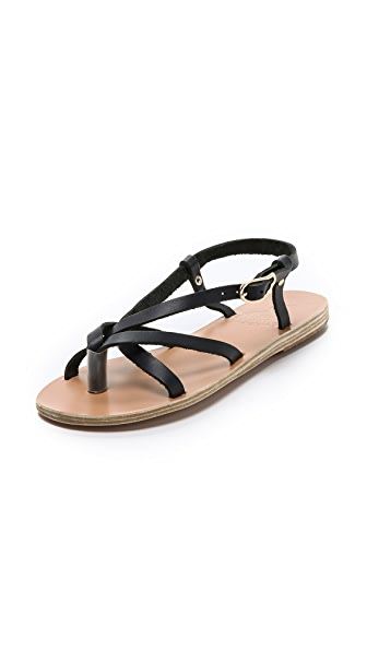 Ancient Greek Sandals Semele Flat Sandals