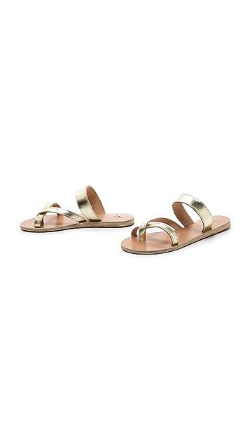Ancient Greek Sandals Daphnae Flat Sandals