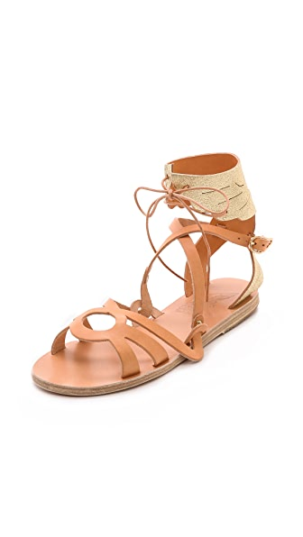 Ancient Greek Sandals Elpida Wing Sandals