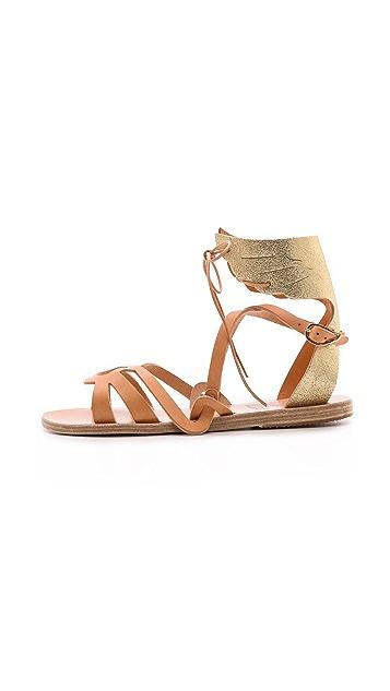 Ancient Greek Sandals Elpida Wing Sandals