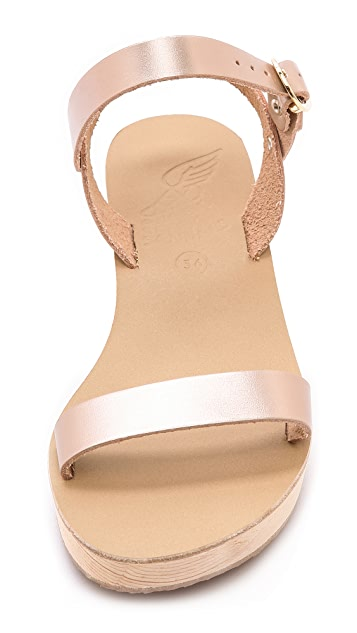 Ancient Greek Sandals Drama Platform Sandals