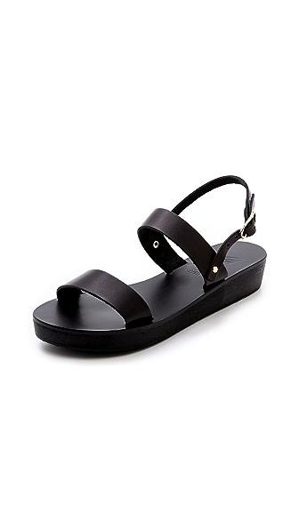 Ancient Greek Sandals Clio Platform Sandals