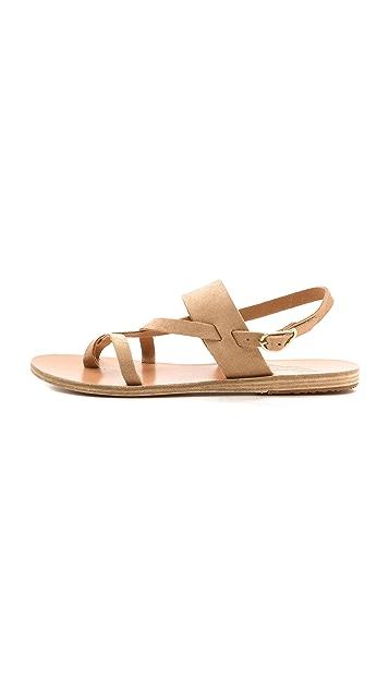 Ancient Greek Sandals Alethea Suede Sandals