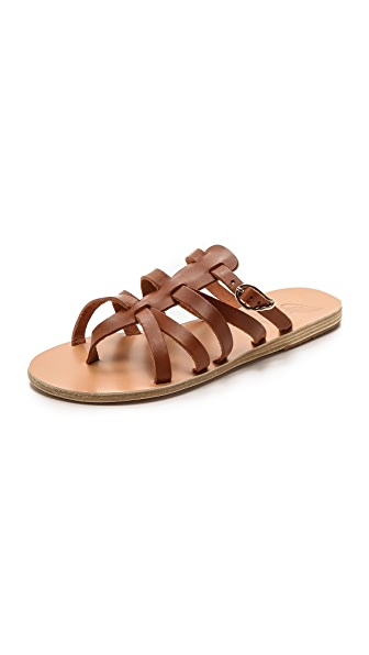 Ancient Greek Sandals Orea Eleni Slide Sandals
