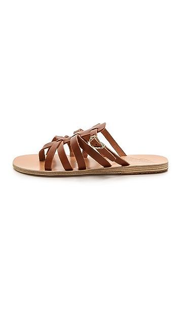 Ancient Greek Sandals Orea Eleni Slide Sandals