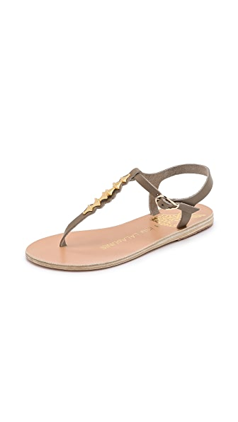 Kupi Ancient Greek Sandals online i prodaja Ancient Greek Sandals Ilias Lalaounis Santorini Thong Sandals Piombo haljinu online