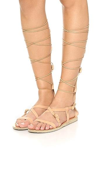 Ancient Greek Sandals Sofia High Sandals