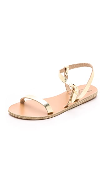 Ancient Greek Sandals Niove Sandals - Platinum