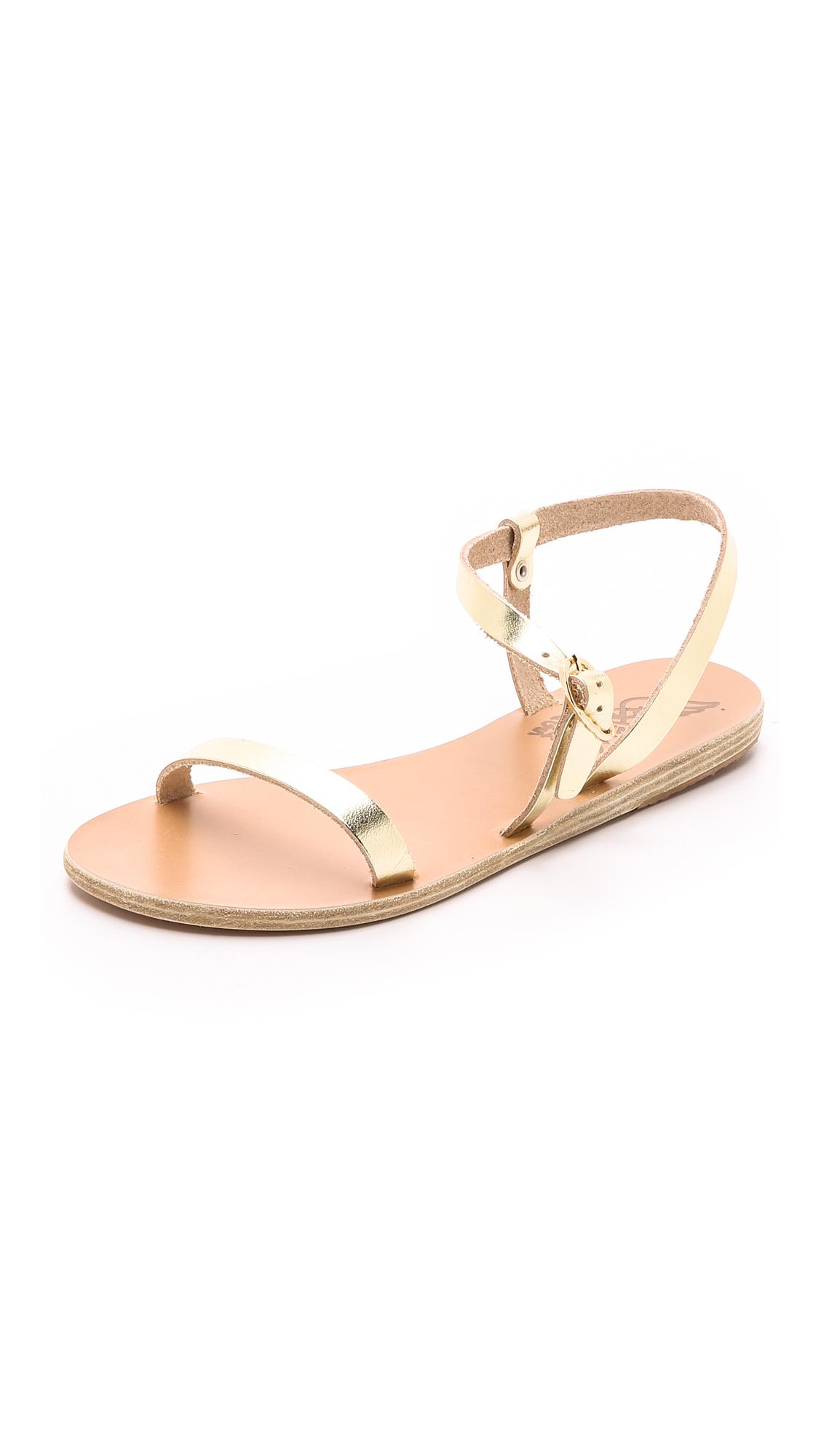 Ancient Greek Sandals Niove Sandals - Platinum at Shopbop