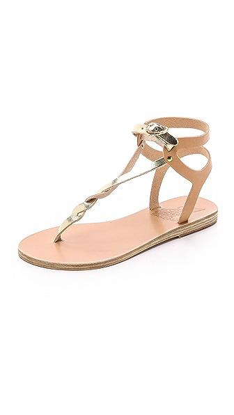 Ancient Greek Sandals Ismene Sandals - Natural/Platinum at Shopbop