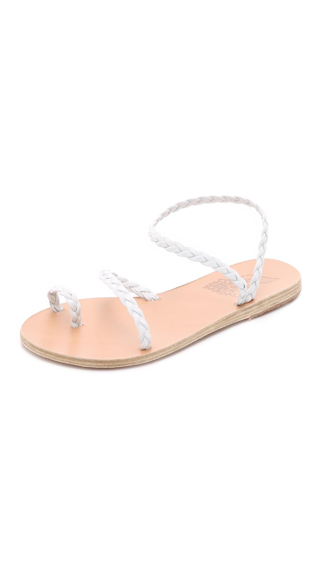 Ancient Greek Sandals Eleftheria Sandals - White at Shopbop
