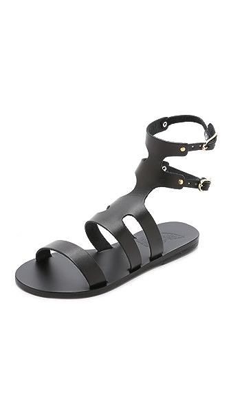 Ancient Greek Sandals Agapi Sandals - Black at Shopbop