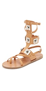 Ancient Greek Sandals for Peter Pilotto Gladiator Sandals                Ancient Greek Sandals