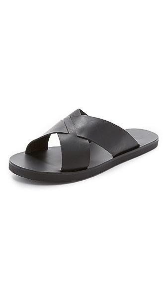 Ancient Greek Sandals Bios Slides