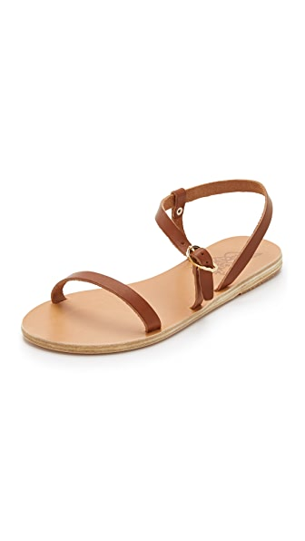 Ancient Greek Sandals Niove Flat Sandals - Cotto at Shopbop