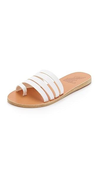 Ancient Greek Sandals Agora Slides - White at Shopbop