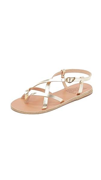 Ancient Greek Sandals Semele Sandals - Platinum at Shopbop