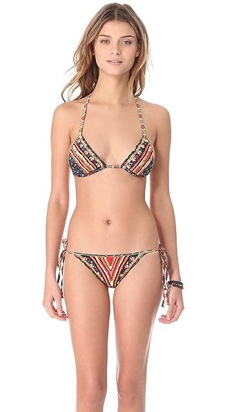 Agua Bendita Bendito Disco Sequin Bikini
