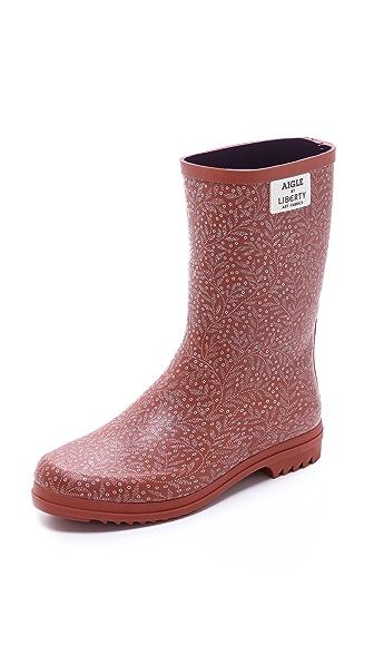 AIGLE Chanteliboot Printed Boots