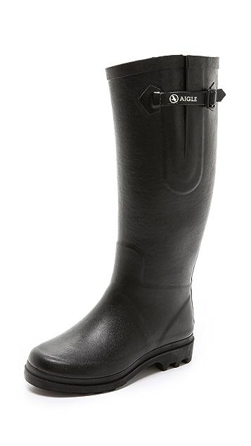 AIGLE Aiglentine Faux Fur Lined Boots