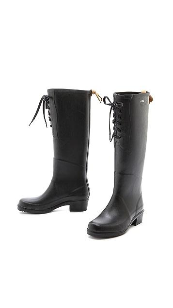 AIGLE Miss Juliette Lace Up Boots