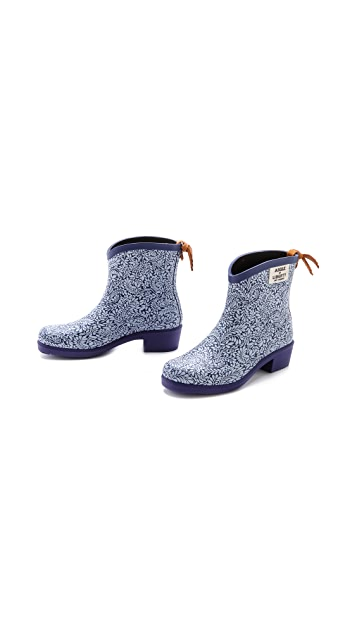 AIGLE Miss Juliette Liberty Print Booties