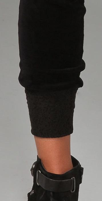 AIKO Irving Velour Pants