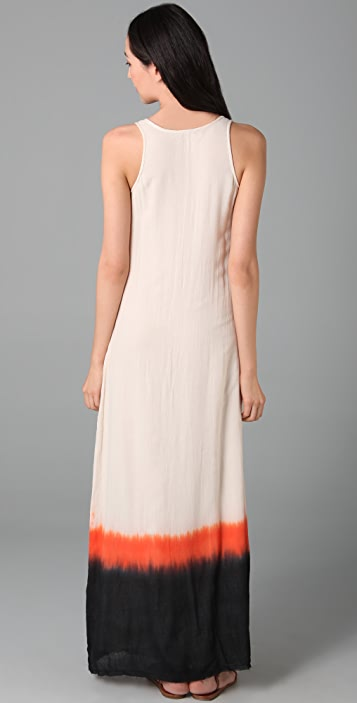 AIKO Chica Paint Dip Maxi Dress