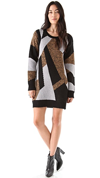 AIKO Sayoko Sweater Dress