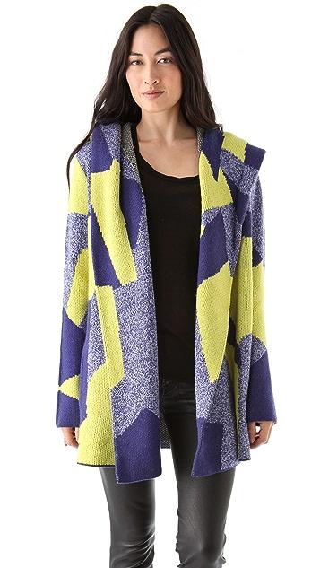 AIKO Muriel Hooded Sweater Coat