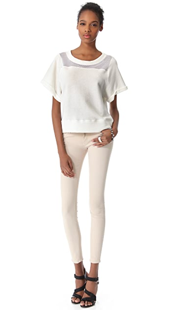 AIKO Isou Short Sleeve Top