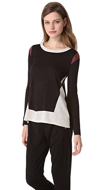 AIKO Fabiola Long Sleeve Top