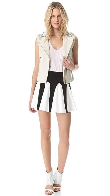 AIKO Two Tone Skirt
