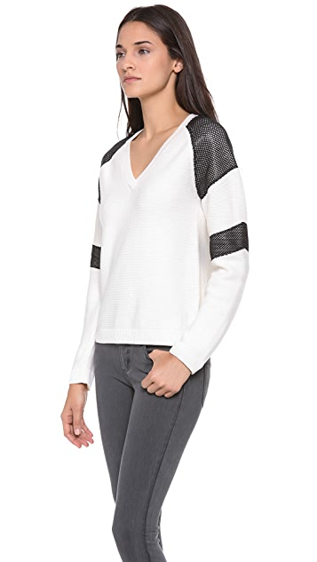 AIKO Sieff V Neck Sweater