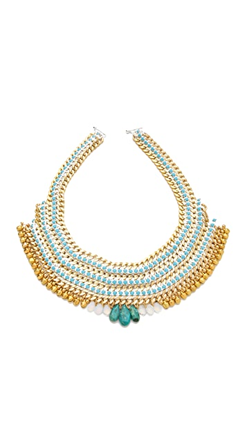 Akong London White Bell Necklace