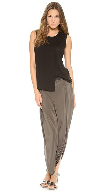 Alasdair Split Silk Pants